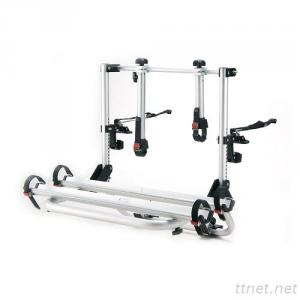 Dual-Purpose Rear Mounted Aluminium Bike Carrier, Car Rack
